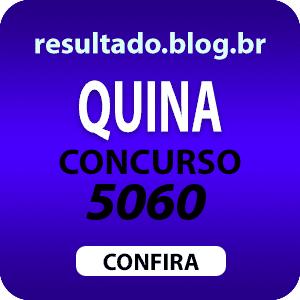 Resultado da quina 5060